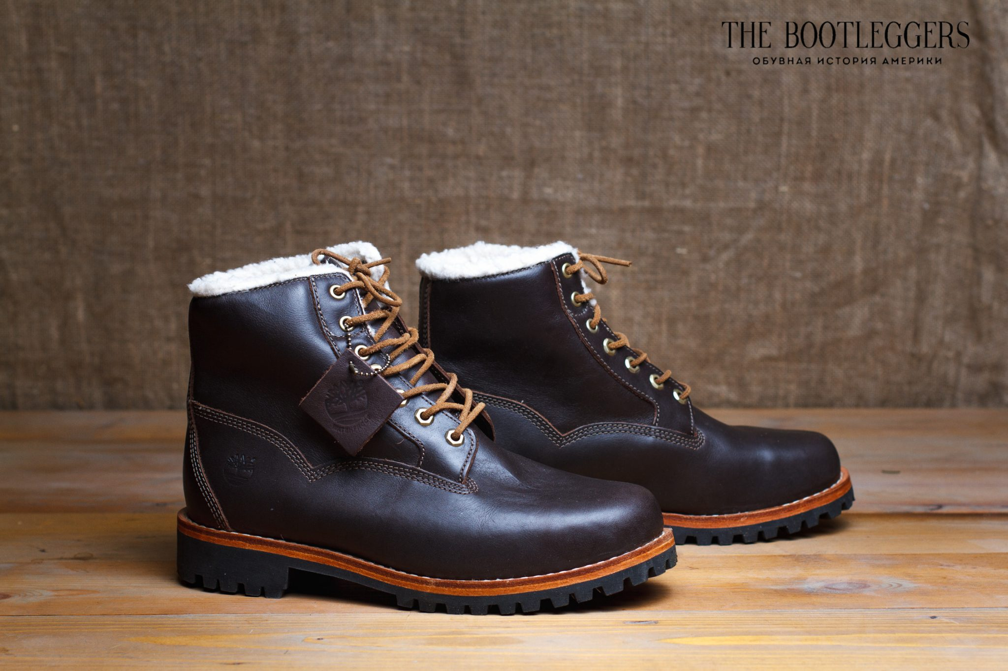 5b7f2a663a49 Мужские ботинки Timbеrlаnd Heritage Brown Leather 6 inch 6555A   The ...