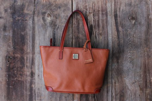 Dooney & Bourke Pebble Grain Charleston Leather Bag