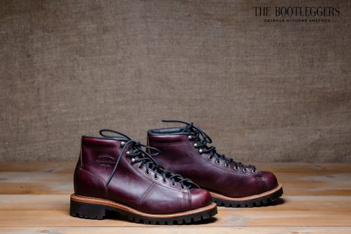 Chippewa 5″ Field Boots Lace To Toe Cordovan