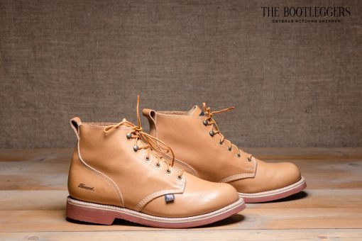 Thorogood x American Eagles Tan Brick Boots